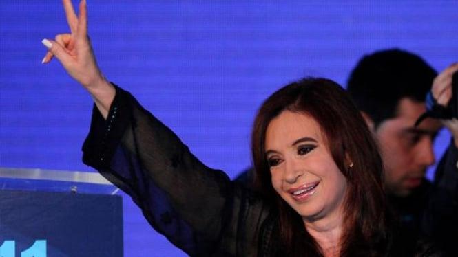 Cristina Fernandez, Presiden Argentina