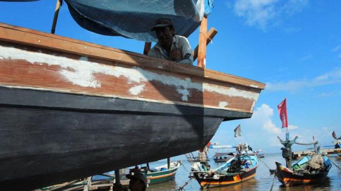 Menikmati Pagi di Tanjung Pasir, Perkampungan Nelayan Tradisional