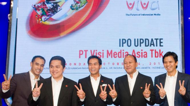 PT VISI MEDIA ASIA MENGGELAR ACARA IPO UPDATE