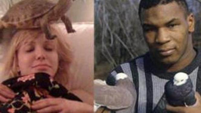 Courtney Love dan Mike Tyson