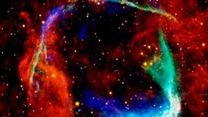 Dokumentasi tertua supernova dari bintang RCW 86