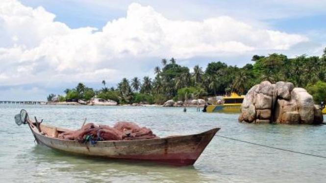 Pulau Berhala yang diperebutkan Kepulauan Riau dan Jambi