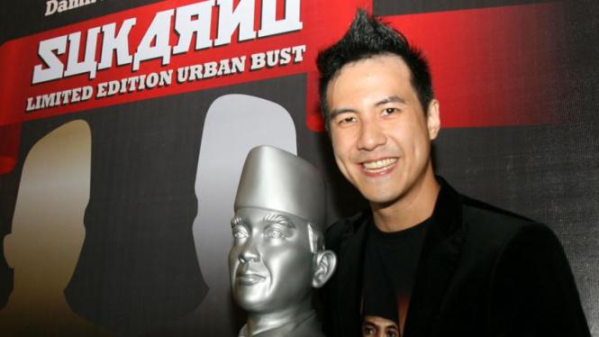 Daniel Mananta saat peluncuran Damn I Love Indonesia
