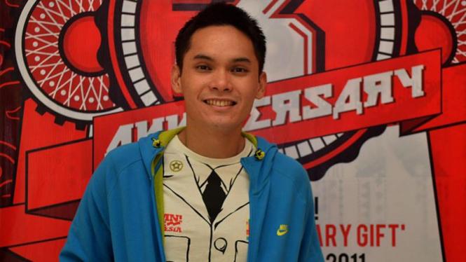 Ben Kasyafani saat Peluncuran Damn I Love Indonesia