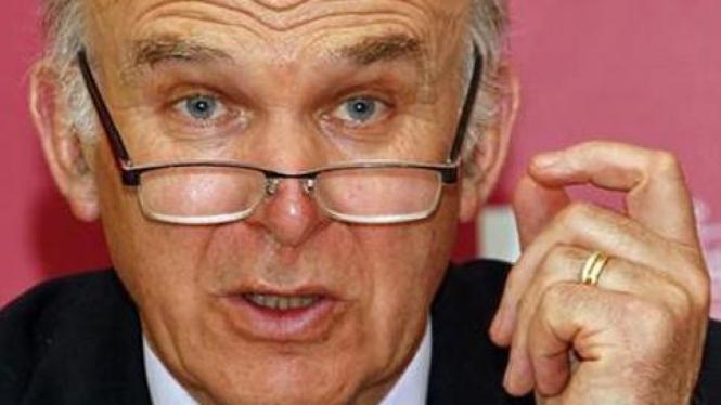 Menteri Bisnis Inggris, Vince Cable