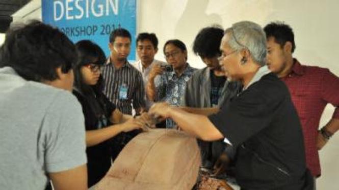 Daihatsu workshop desain di kampus Trisakti