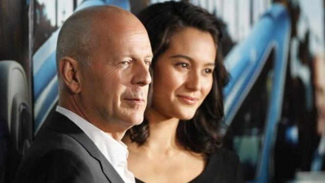 Bruce Willis dan Emma Heming