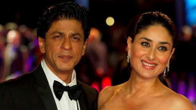 Shah Rukh Khan dan Kareena Kapoor.