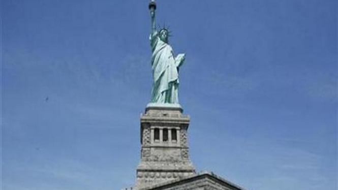 Patung Liberty di New York, AS