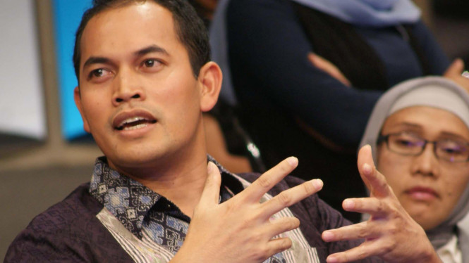 Ketua Umum KNPI Taufan E.N. Rotorasiko