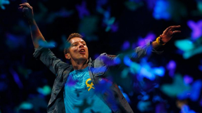 Konser Coldplay di Madrid