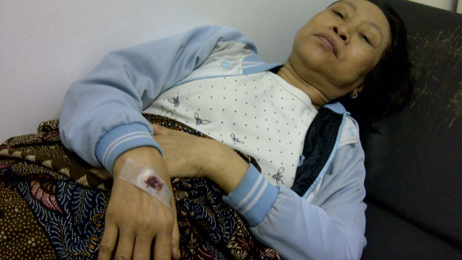 Patenah, pasien diabetes RSCM