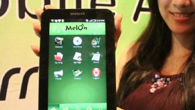 Melon, aplikasi musik legal untuk BlackBerry dan Android