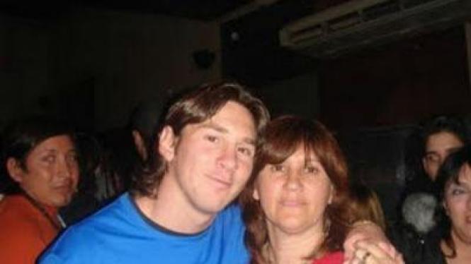 Messi dan Ibunda