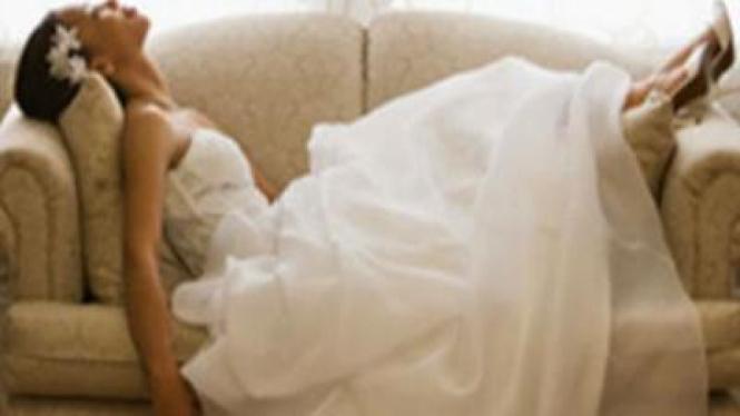 Stres jelang pernikahan