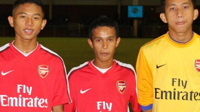 Dani (kiri), Fahmi (tengah), Rangga (kanan)
