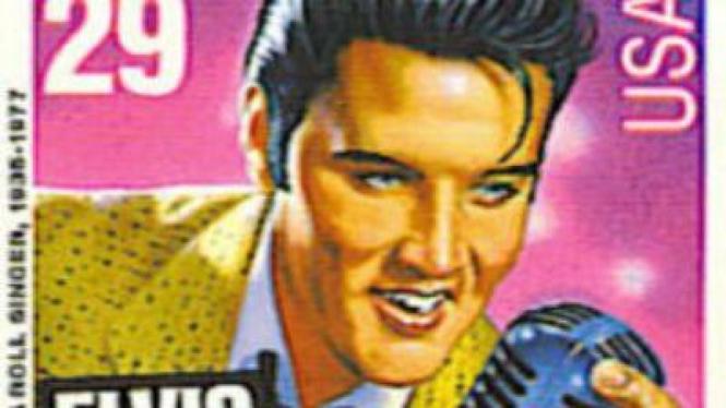Perangko Elvis