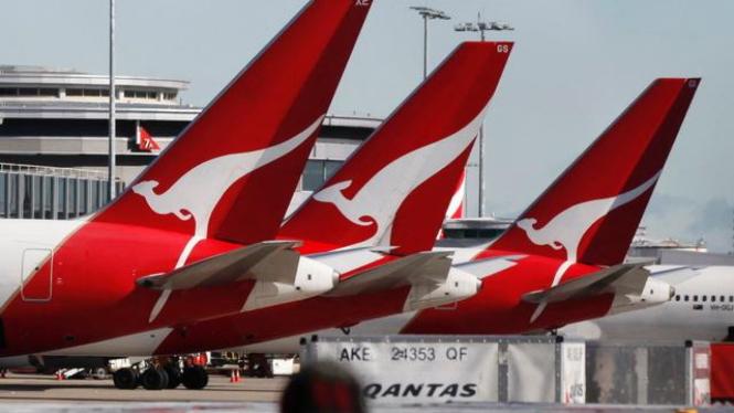 Armada maskapai penerbangan Qantas