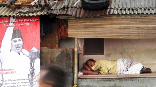 Ilustrasi/Potret kemiskinan di Indonesia