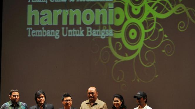 peluncuran album Harmoni