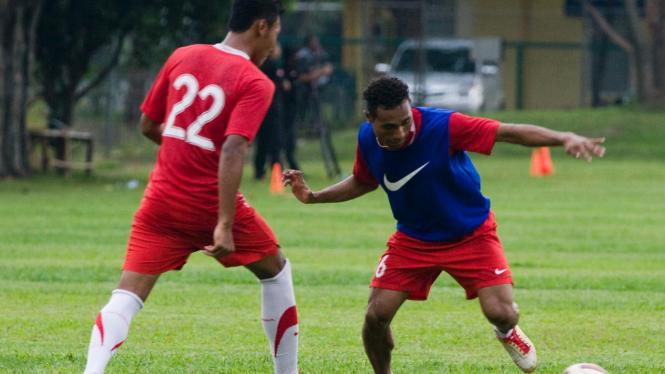 Latihan Timnas Indonesia U-23