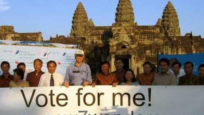 Taman Arkeologi Angkor di Kamboja