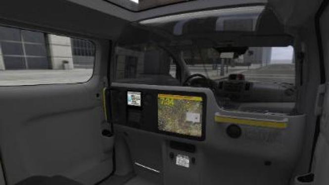 Interior Nissan NV200 Taxi