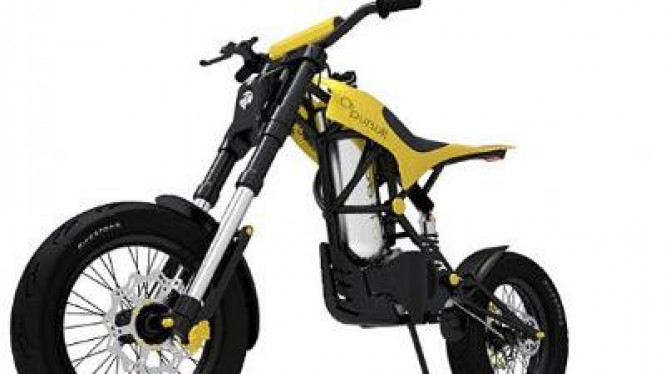 02 Pursuit sepeda motor bertenaga udara