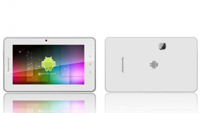 SpeedUp Pad, tablet PC 7 Inci