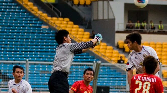 Vietnam Vs Filipina Di Sea Games 2011