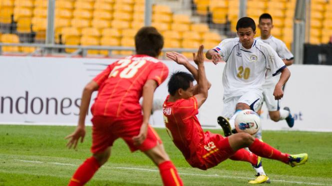 Vietnam Vs Filipina Di Sea Games 2011