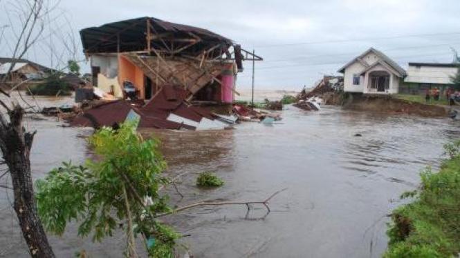 Banjir di Pesisir Selatan, Sumatera Barat