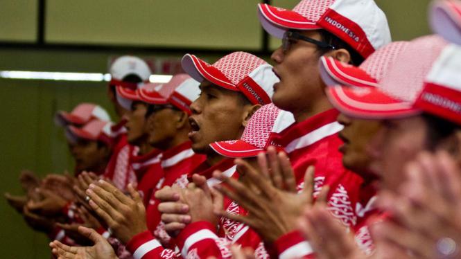 Menpora Kukuhkan Kontingen Indonesia