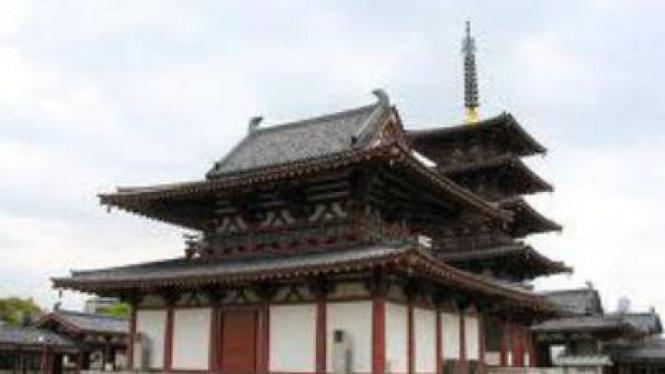 Shitennon ji hall