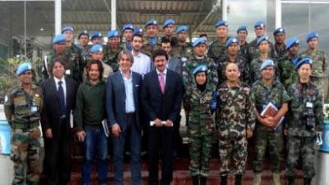 Rapat terakhir Papen UNIFIL