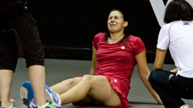 Marion Bartoli mengalami cedera