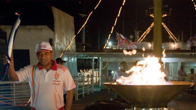 Obor Sea Games 2011 Berangkat Ke Palembang