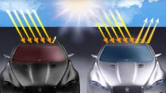 Warna mobil pengaruhi konsumsi BBM