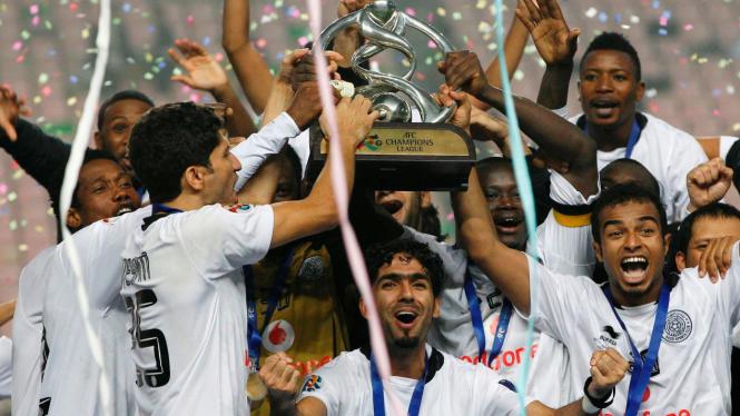 Pemin Al Sadd rayakan gelar juara LCA 2011