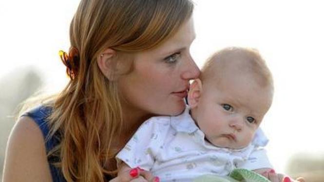 Mariah Yeater dan Bayi