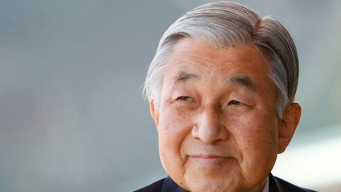 Kaisar Jepang Akihito.