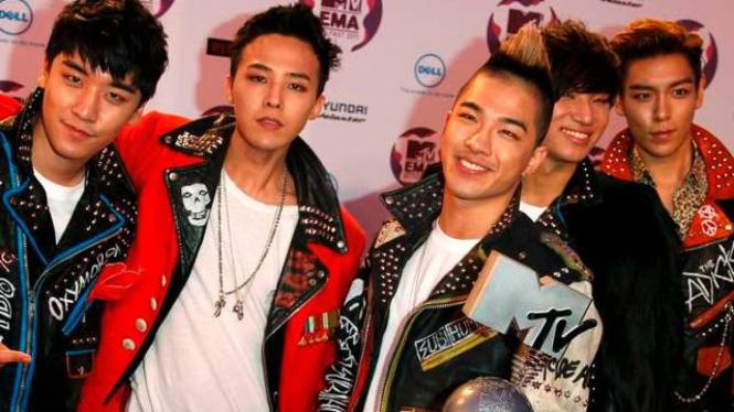 Big Bang di MTV Europe Music Awards