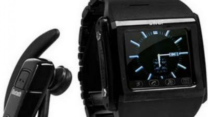 Swap Watch, jam tangan ponsel