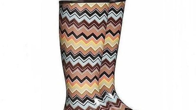 sepatu boot 'Missoni for Target'