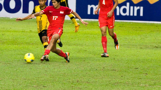 Malaysia Vs Singapura Di Sea Games 2011