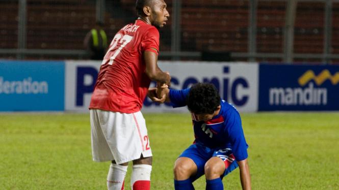 Indonesia VS Kamboja Di Sea Games 2011