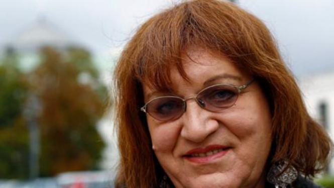 Anna Grodzka, anggota parlemen transeksual di Polandia