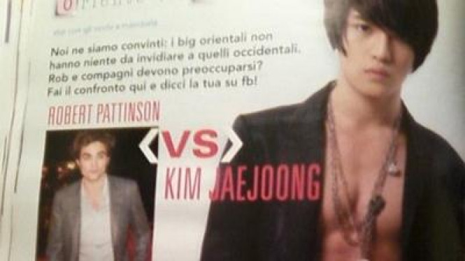 Jaejoong 'JYJ' dan Robert Pattinson