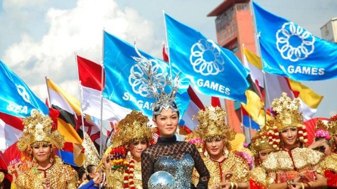 Parade bendera SEA Games