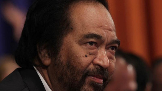 Ketua Dewan Pembina Partai Nasdem Surya Paloh